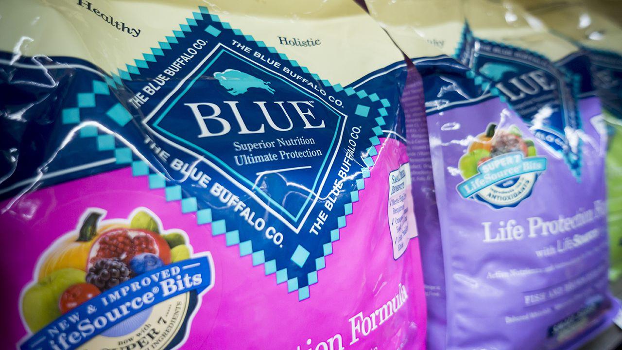 A new york woman has sued dog food maker blue buffalo