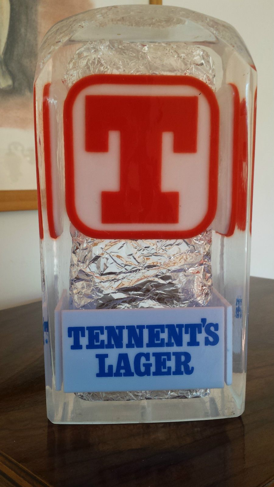 Tennent S Lager Beer Pump Advertising Font Head Tennents Lager Lager Beer Lager