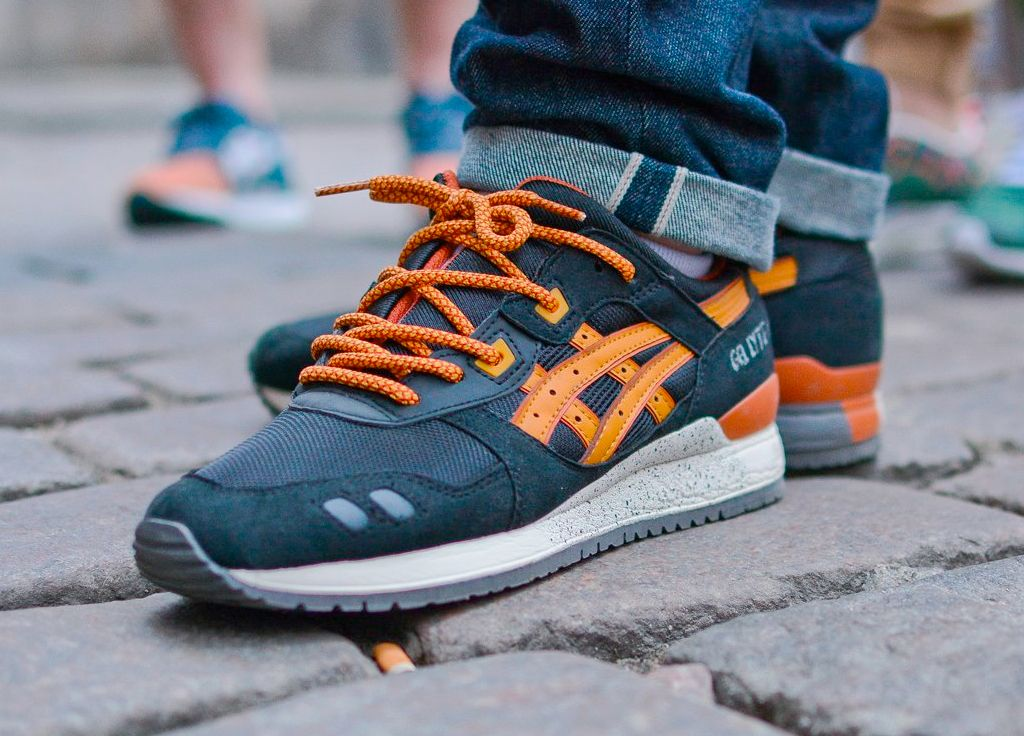 Asics Gel Lyte III - Black/Tan (by Run Colors)