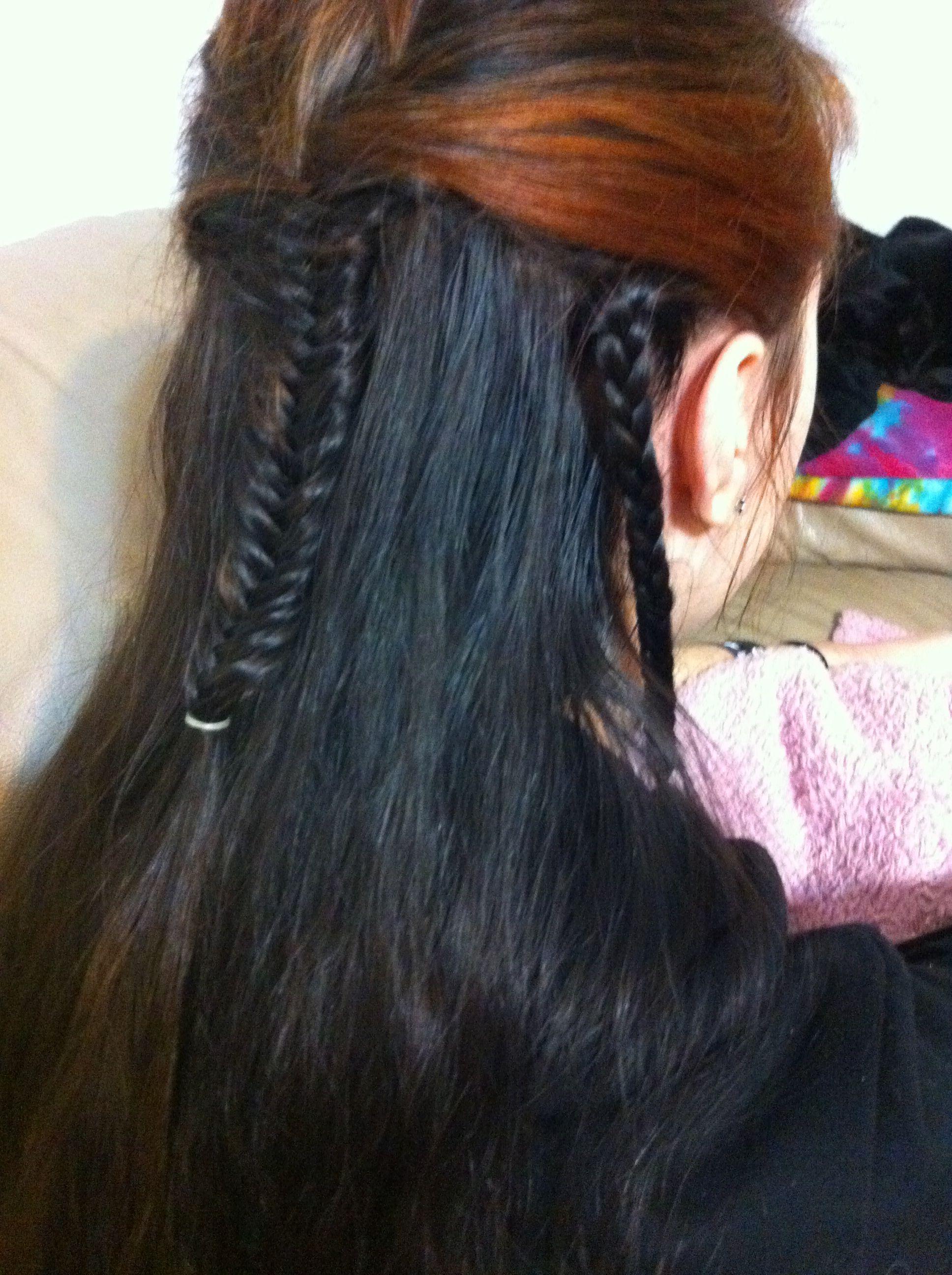 Legolas' hairdo!   Super long hair