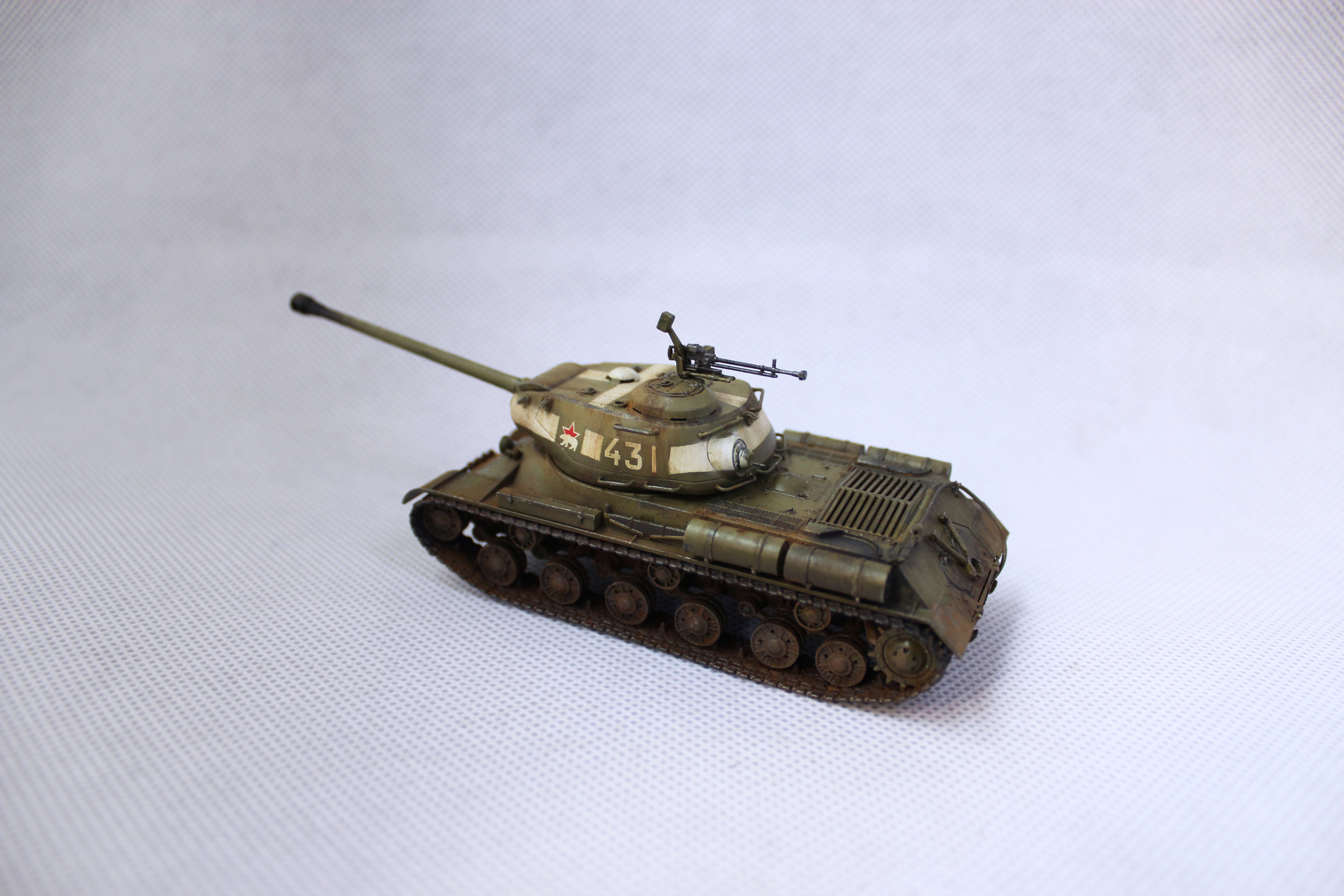 Zvezda Is 2 Mod 1944 1 72 Scale Models My Works Military Vehicles