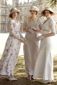 Garden Party Dresses Downton Abbey