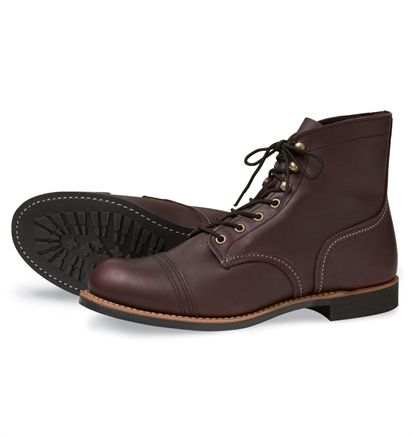 c886bf0e9c5 Red Wing Shoes - Style No. 8119 Iron Ranger - Oxblood Mesa   Red ...