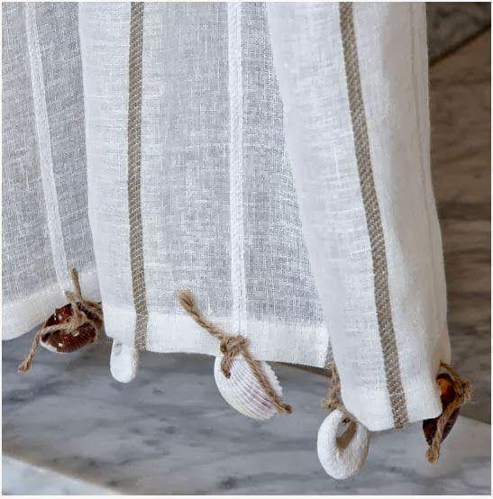 Ideales para una casa en la playa cortinas estores etc dormitorio playa decoraci n de - Decoracion cortinas dormitorio ...