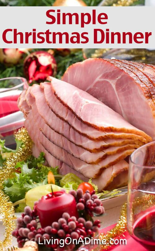 Simple Christmas Dinner Recipes and Ideas images