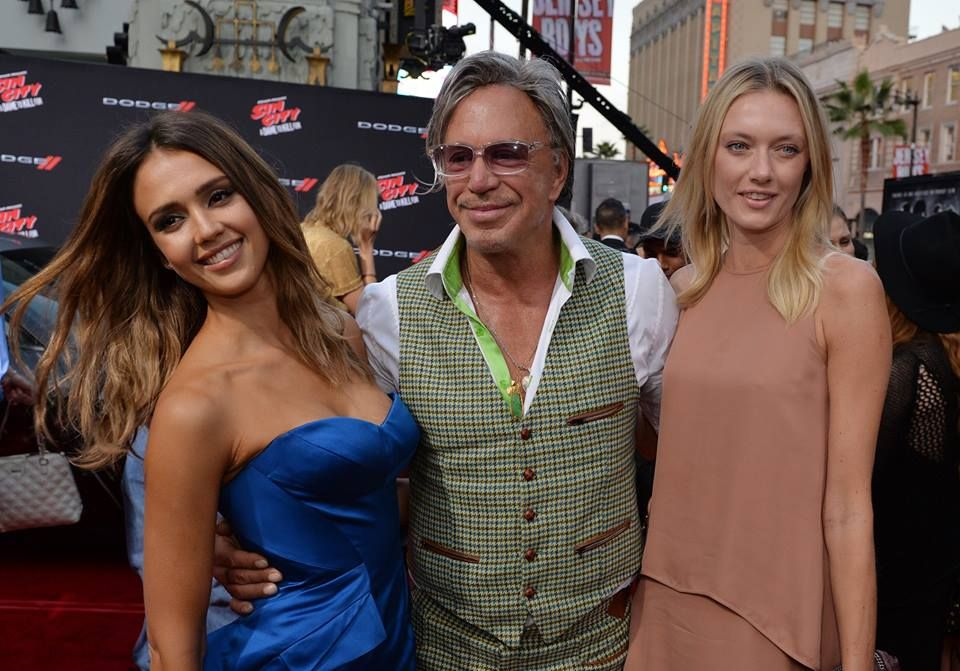 Jessica Alba Mickey Rourke Anastassija Makarenko At The World Premiere Of Frank Miller S Sin City A Dame To Kill Blue Strapless Dress Jessica Alba Dresses Mickey rourke and anastassija makarenko have reportedly been together for 11 years, which is practically a lifetime in the business. jessica alba mickey rourke