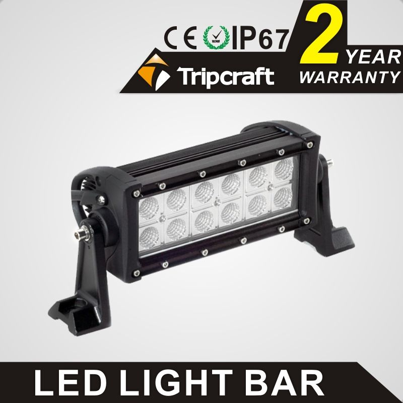 36w 7 5 Led Light Bar Spot Flood 24v 12v Led Driving Light For Offroad Trailer Truck Camper Led Driving Lights Bar Lighting