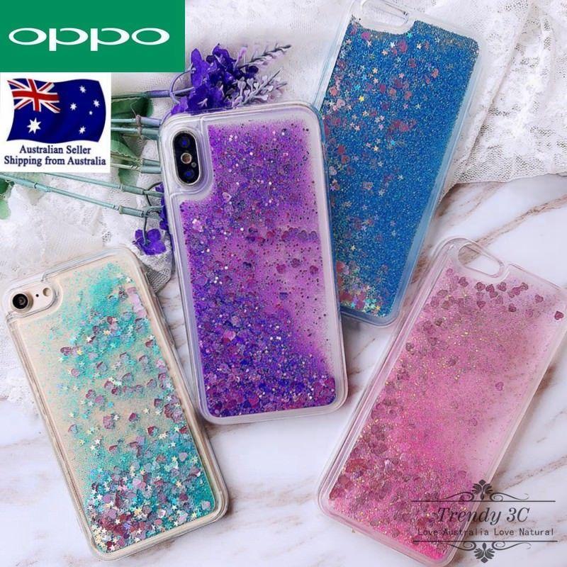 competitive price df0fa f2c22 OPPO AX5 R15 Pro A57 A73 Plus Liquid Sparkle Glitter Dynamic Bling ...