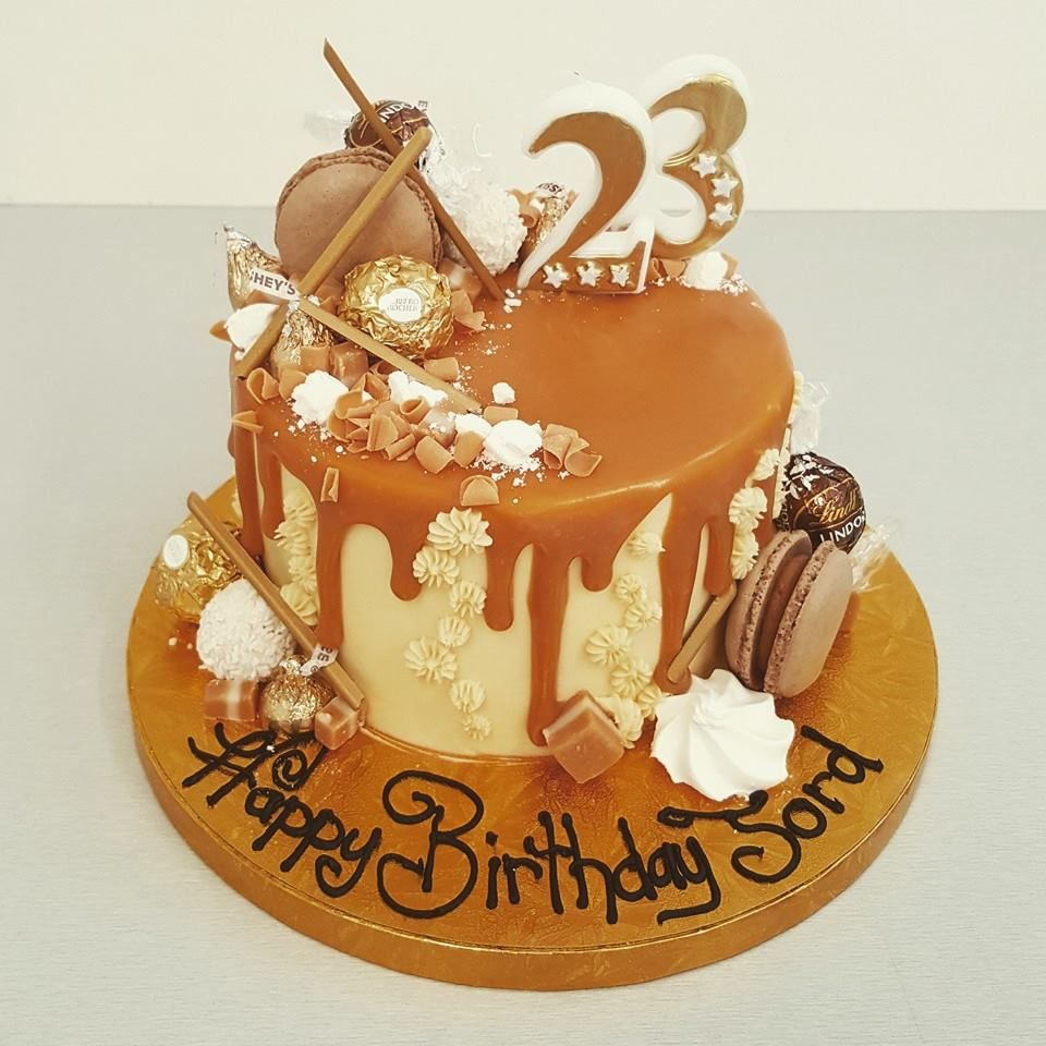 Fine Salted Caramel Overload With Images Salted Caramel New Cake Funny Birthday Cards Online Necthendildamsfinfo