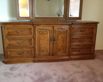 Thomasville French Dresser Triple