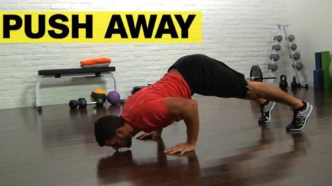 the pushup that sculpts rocksolid shoulders  push away