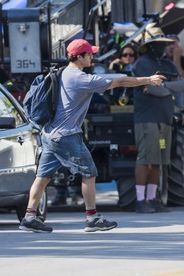 """Darren Criss On Set Of """"American Crime Story"""" - May 9 2017…"""
