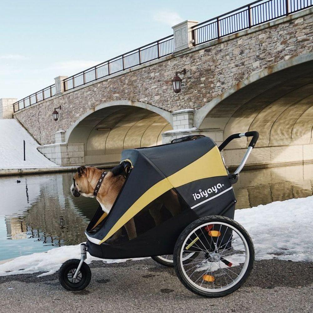 Hercules 50kg Heavy Duty Large Dog Stroller Free UK