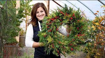 Garden Answer Youtube Christmas Wreaths Holiday Wreaths Christmas Wreaths To Make