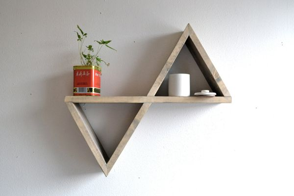 Pin By Hillary Fairfield On Diy Furniture Geometric Shelves Diy