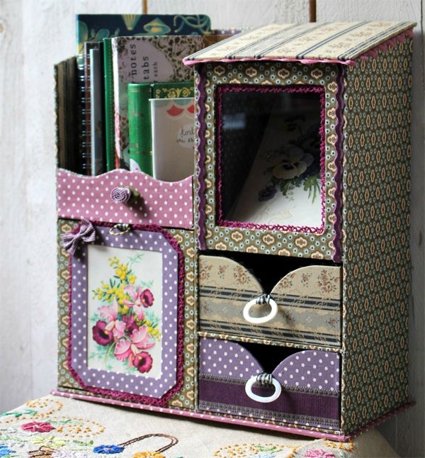 Cardboard Craft Boxes To Decorate Cartonnage & Paris  Decorate Box Box And Craft