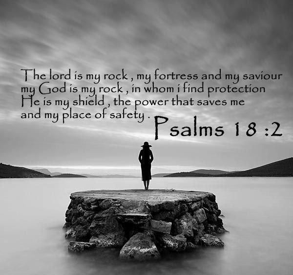 Psalms Bible Savior: Psalm 18:1 I Love You, Lord; You Are My Strength. 2 The
