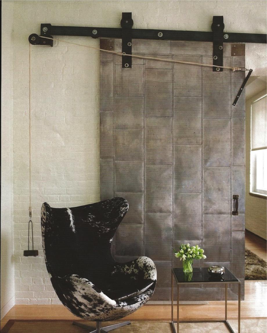 25 Inspiring Door Design Ideas For Your Home: Metal Sliding Doors Ideas