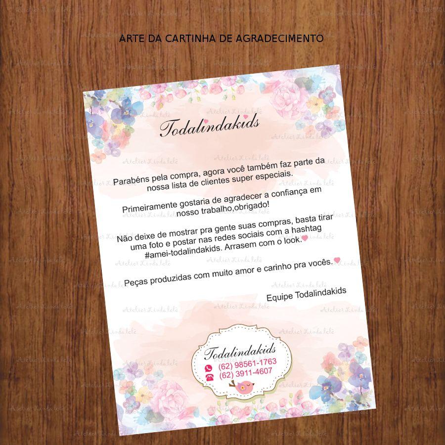 Arte Personalizada Para Impressao Cartinha De Agradecimento Olha Que Linda Fico Cartoes Personalizados Carta De Agradecimento Etiquetas De Agradecimento Modelos de cartas de agradecimento