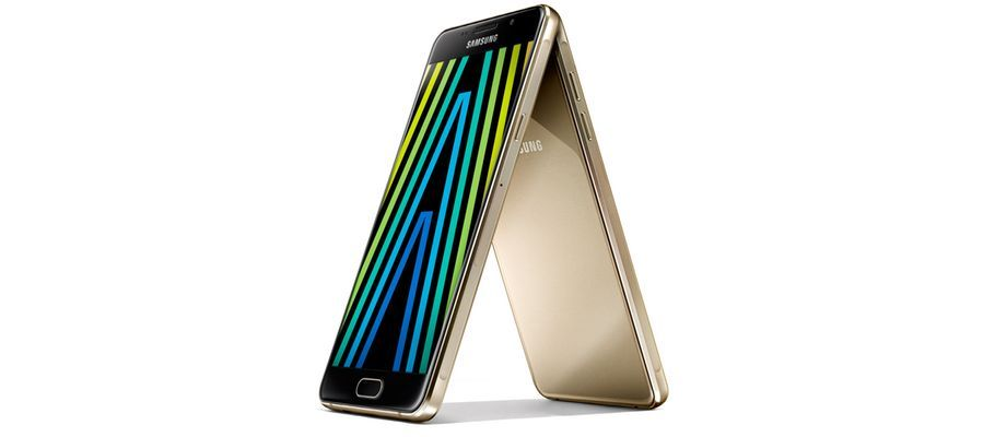 Samsung Galaxy A3 A5 And A7 2016 Go Official With Updated Metal And Glass Design Samsung Galaxy A3 Galaxy Glass Design