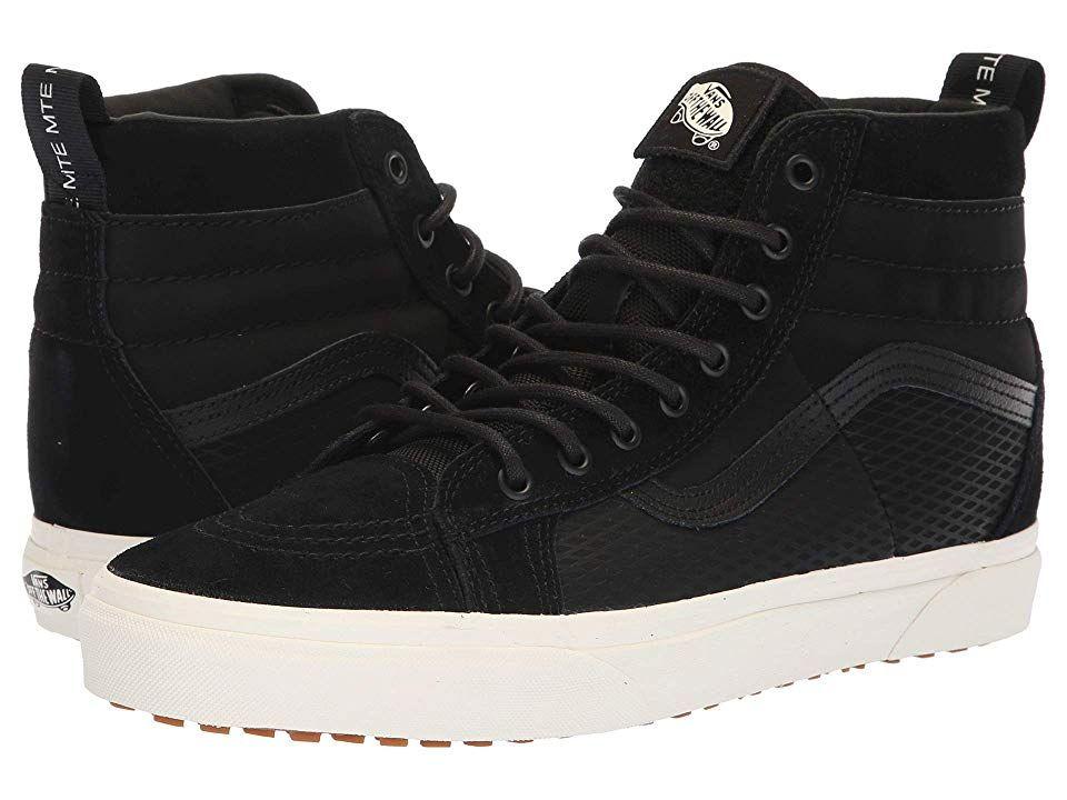 Vans SK8 Hi 46 MTE DX ((MTE) TactBlack) Skate Shoes. Evoke