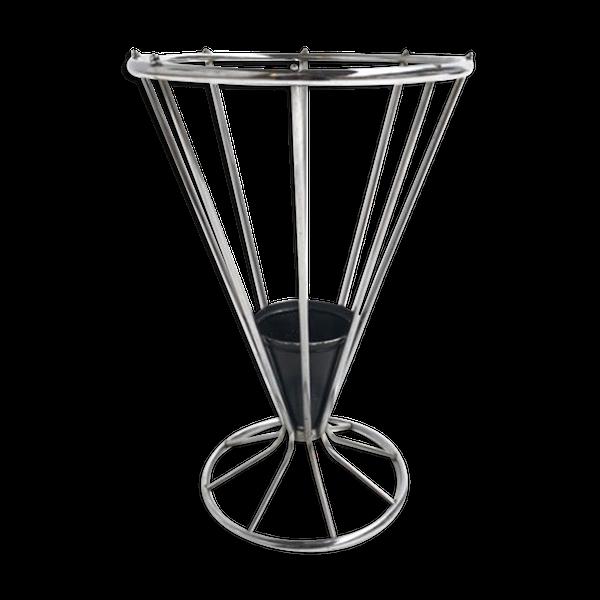 Porte-parapluie en acier chromé   – Products