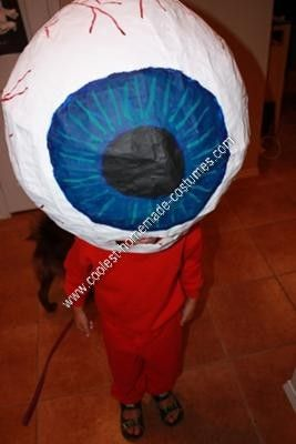 homemade eyeball costume for this homemade eyeball costume i used a chinese lantern for the mold just make sure it is a big one that has the large