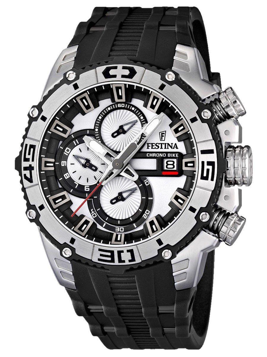 8e856aa1f24  TimeMob  Relógio Festina Tour De France Chronograph F16600 1   Chrono Bike  R 375