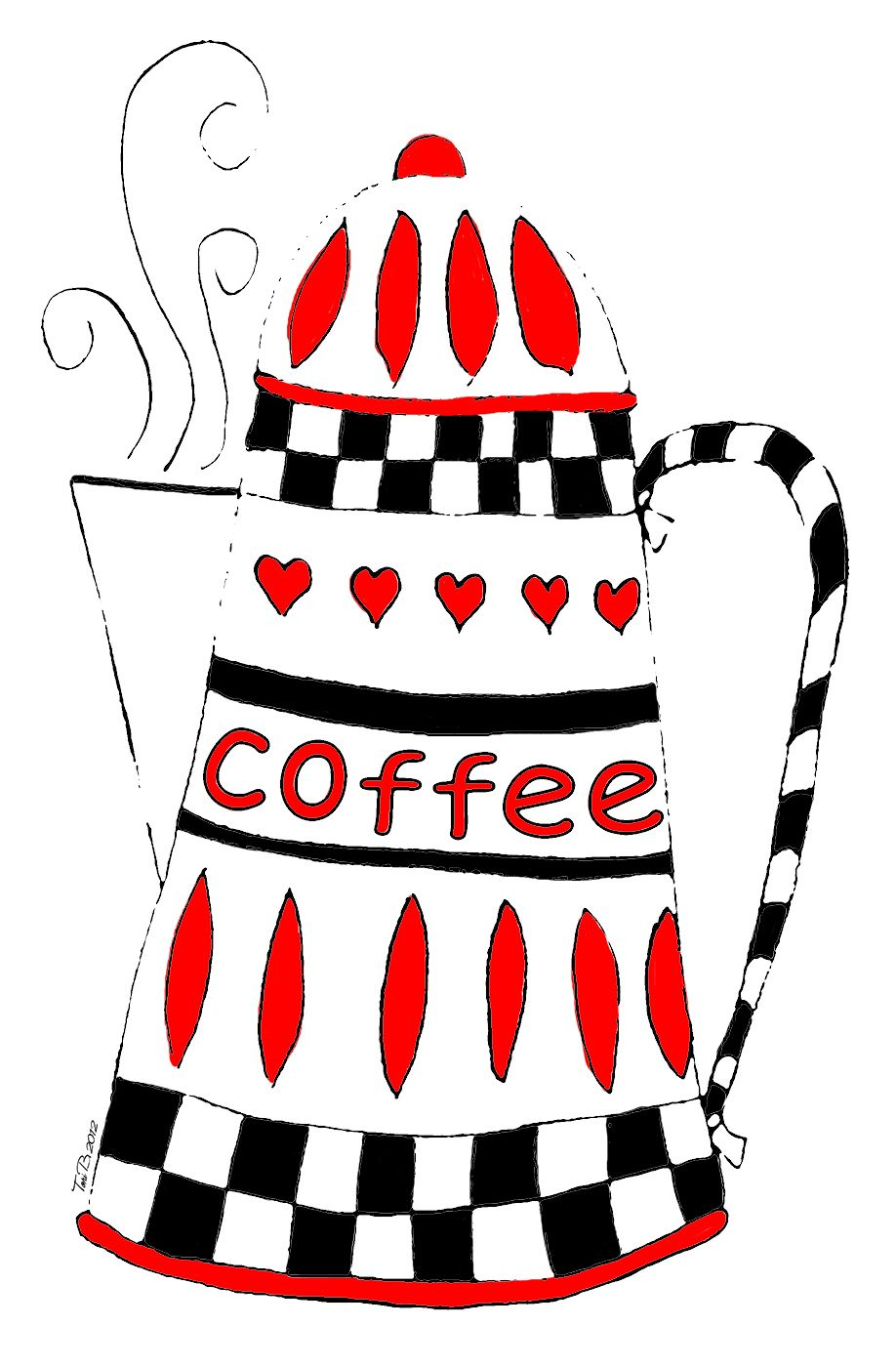 Free and in B*W too | Free stencils printables, Coffee art ...