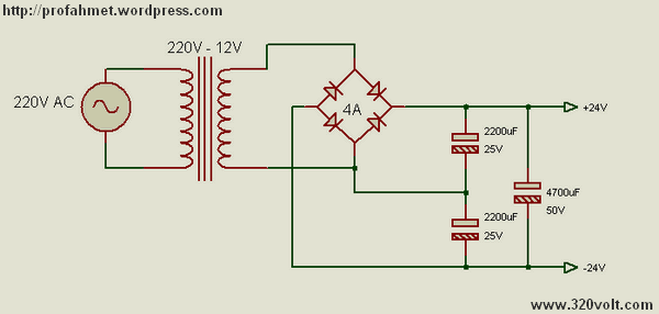 12 Volt Ac Voltage Capacitors And 24v Dc Voltage Doubling Can Be Obtained This Dc Voltage Cu Simple Circuit Projects Electronics Projects Power Supply Circuit