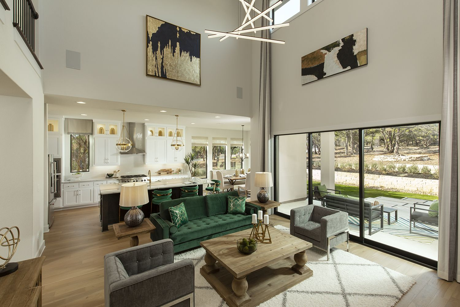 A Spacious Open Concept Floor Plan Layout Makes For A Great Entertaining Space In 2020 New Homes Open Concept Floor Plans Coventry Homes