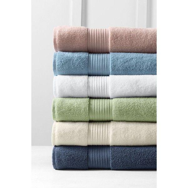 Lands End Hydrocotton 6 Piece Towel Set Featuring Polyvore Home