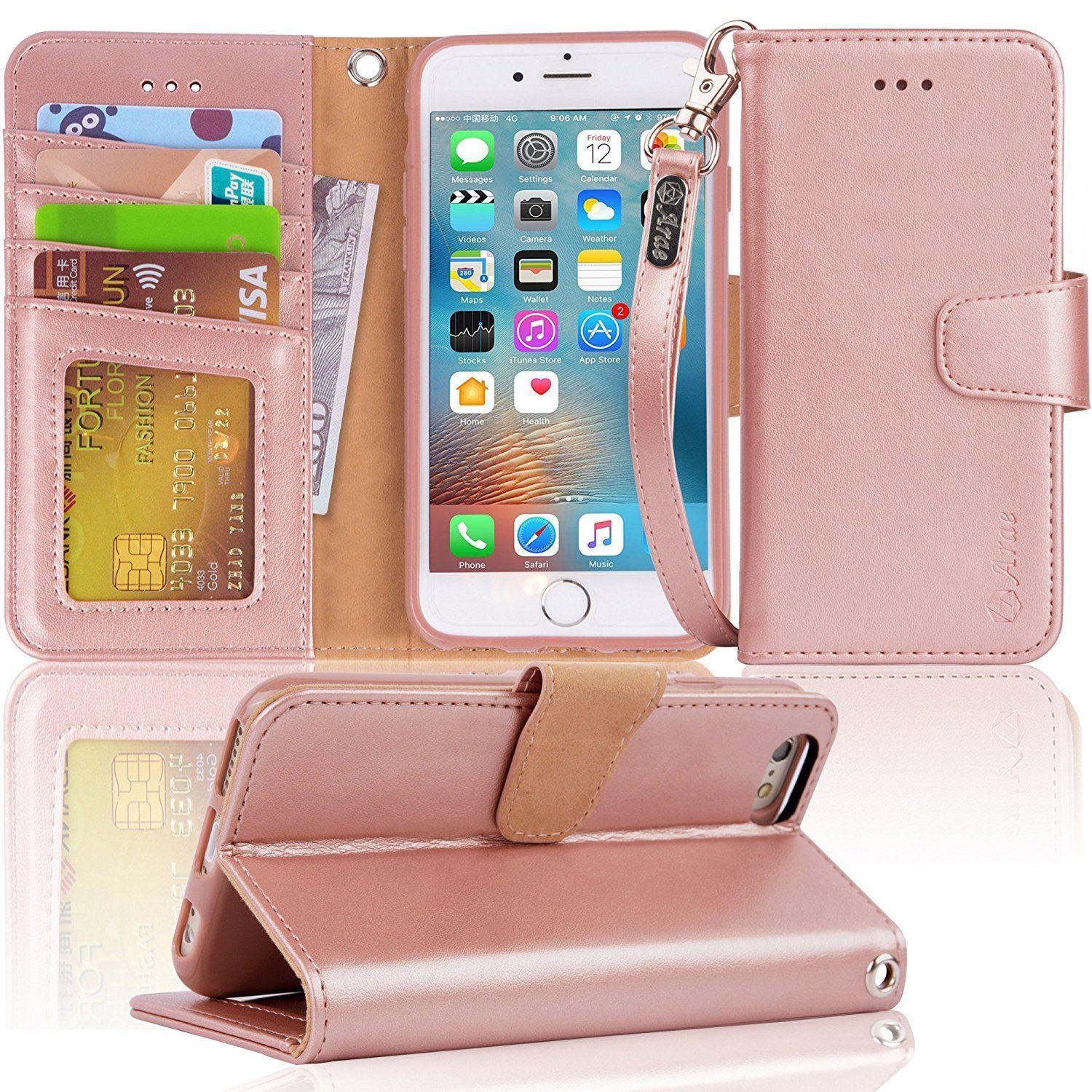 purchase cheap 880a3 29555 $12.77 - Wallet Case Iphone 6/ 6S Plus Waterproof Shockproof For ...