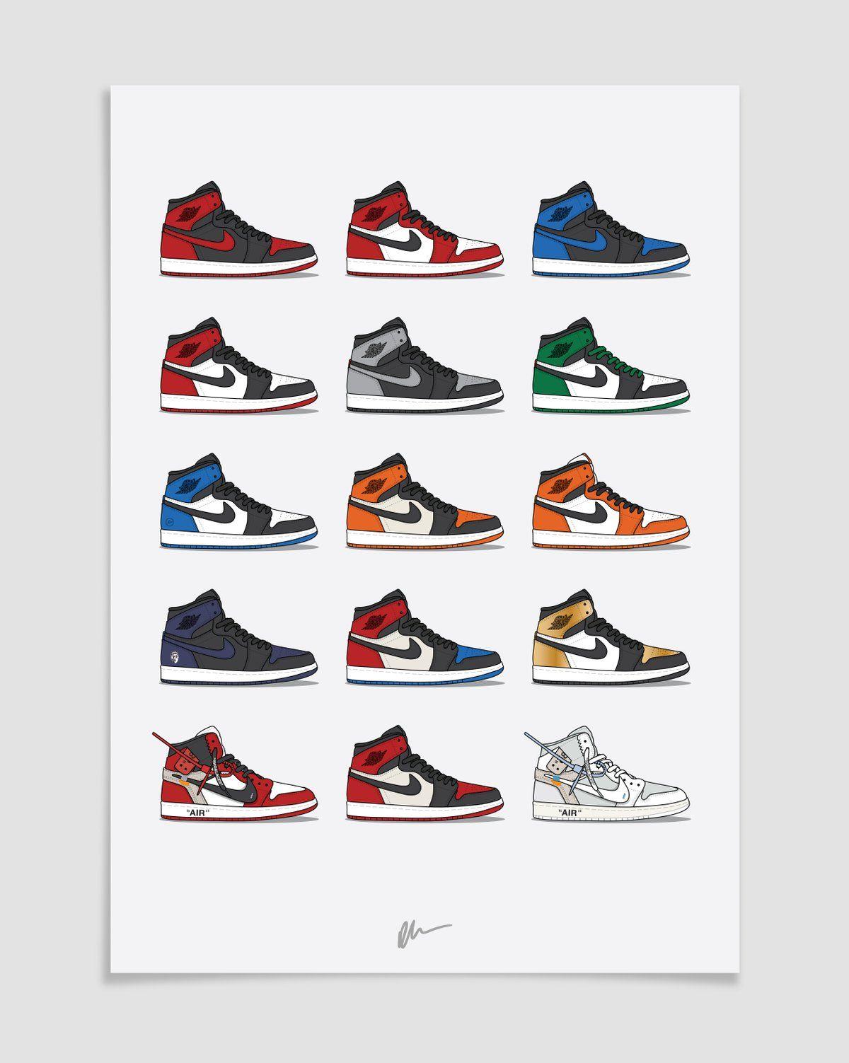 Air Jordan 1 Hype Collection