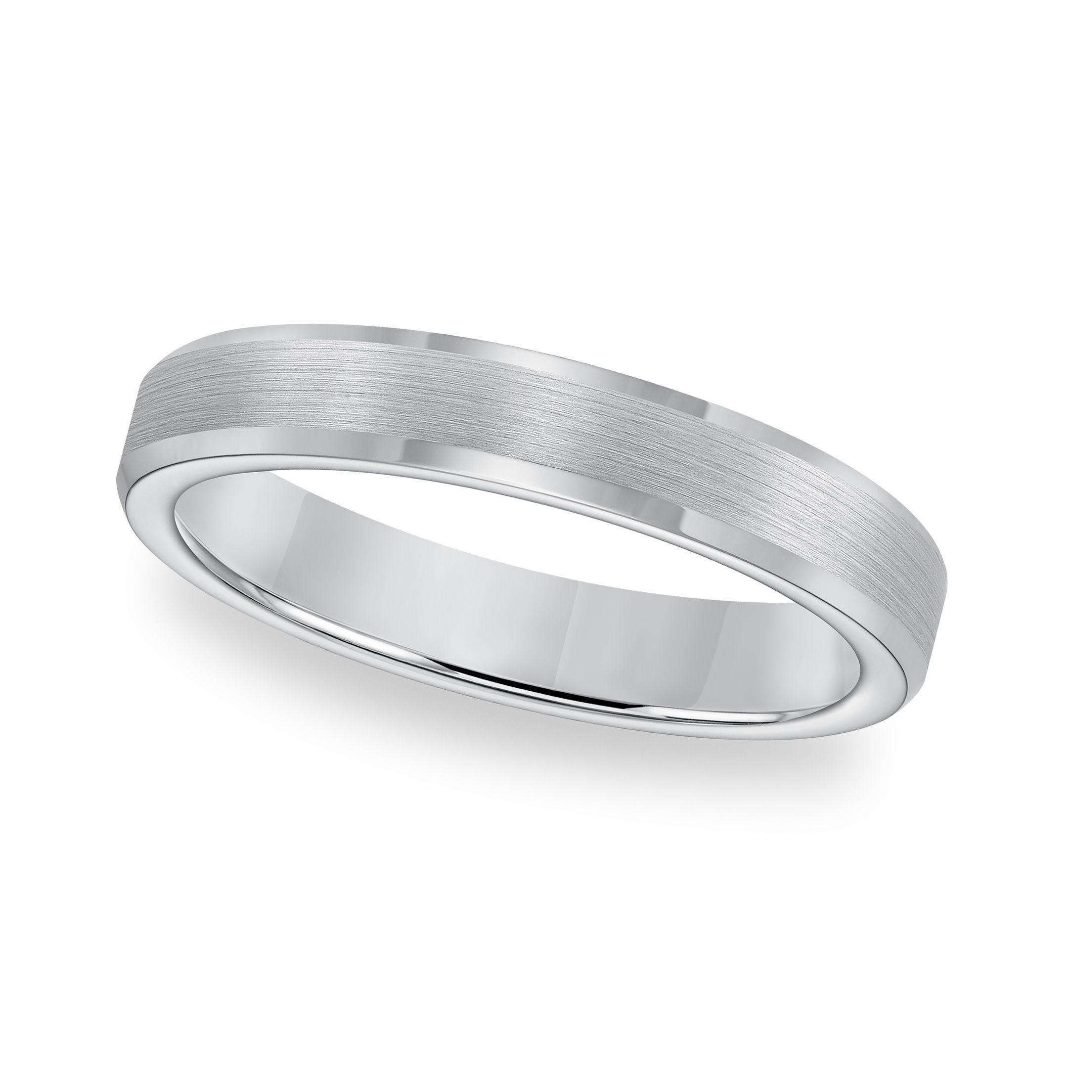 Titanium Mens Comfort-Fit Wedding Band Size 12.5