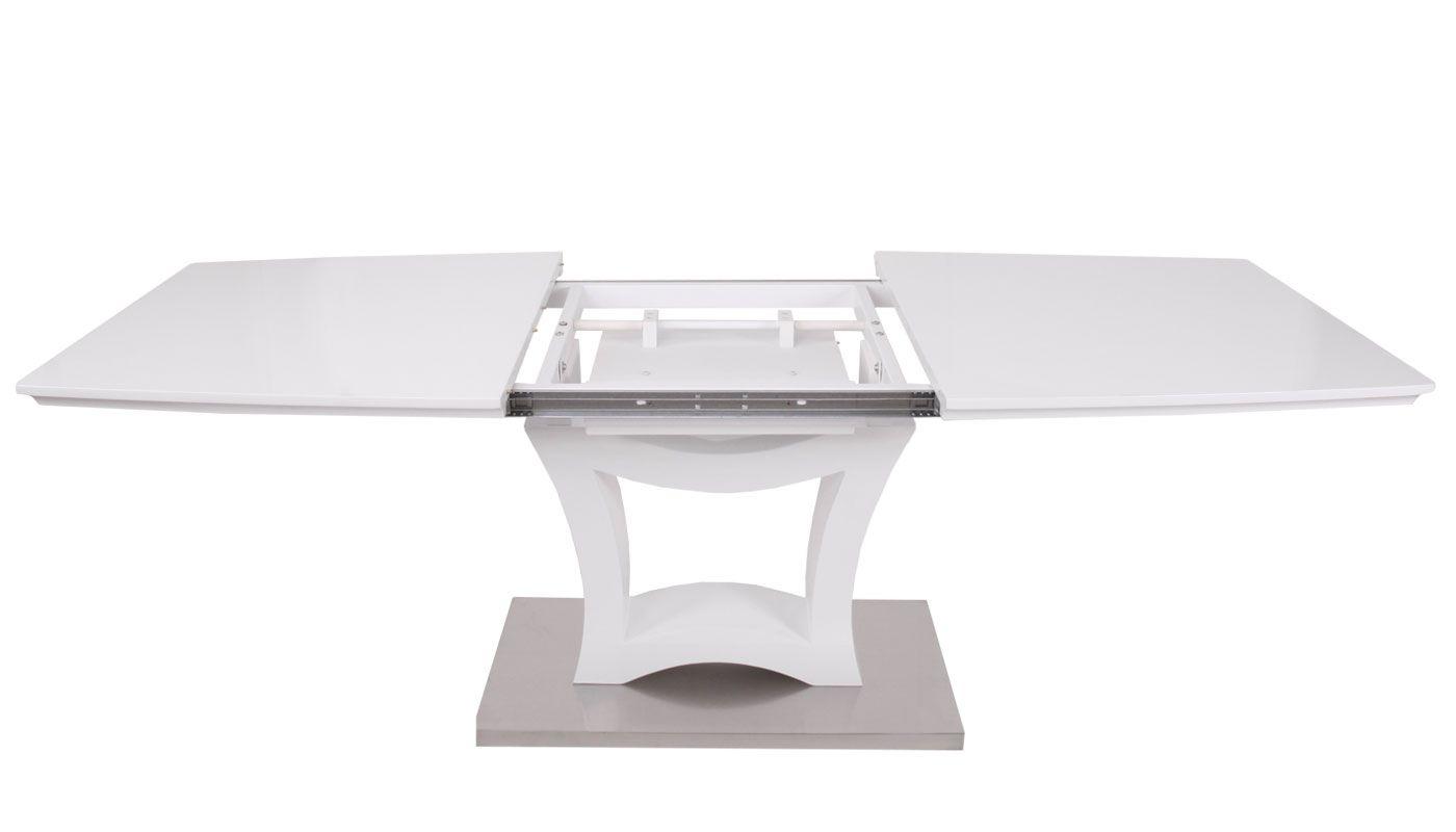 Gartentisch Merxx Ausziehbar Glasplatte 140 200x90cm Alu Silber