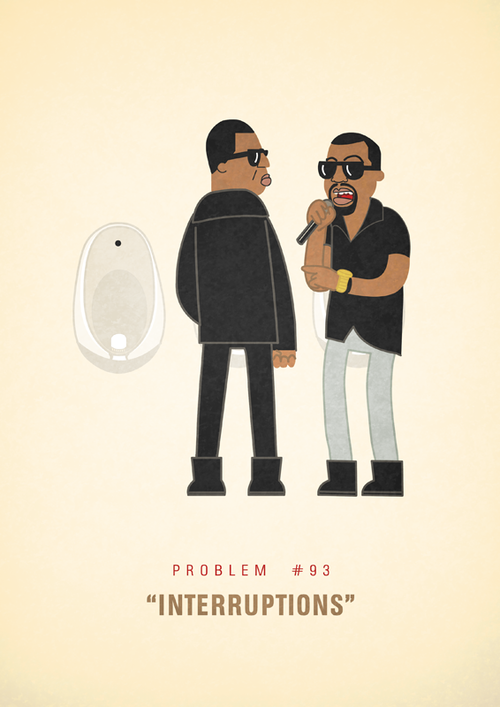 Jay Z S 99 Problems Illustrated Problem 93 Interruptions Feat Kanye West 99 Problems First World Problems Minimalist Poster