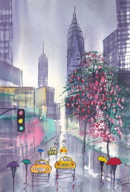 Rainy Day New York Spring Wallpapers Rainy Wallpaper