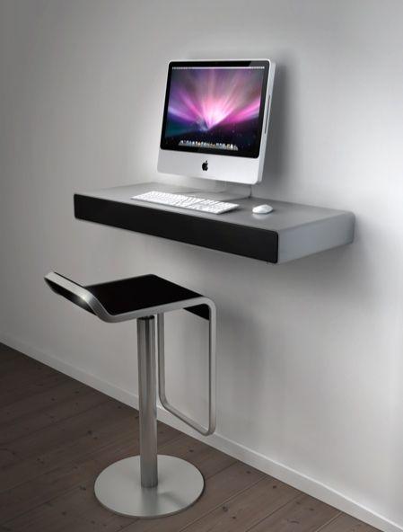 Idesk le bureau pour imac desks for Computer bureau