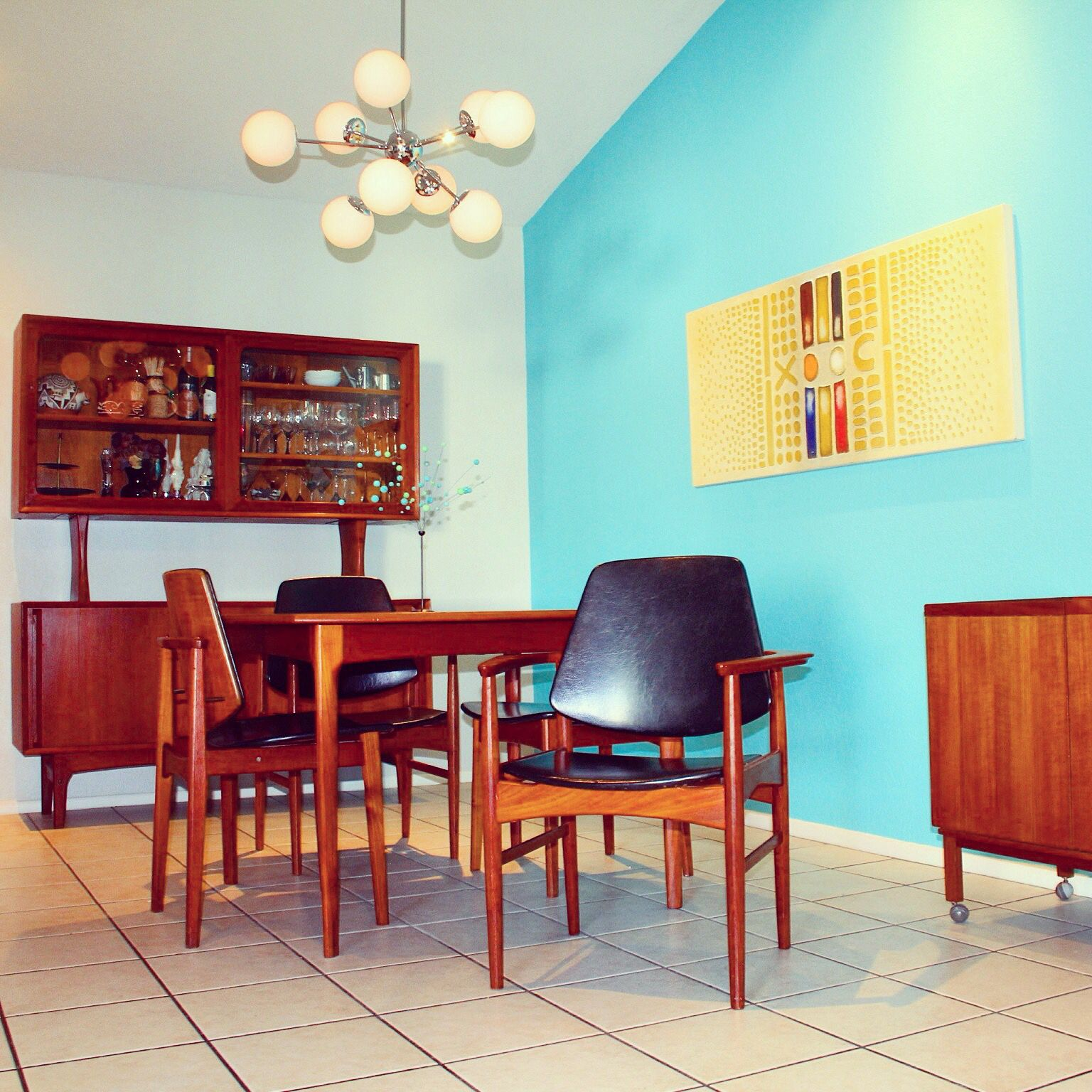 Customers often ask if we have a Mid Century home. Nope, but we love ...