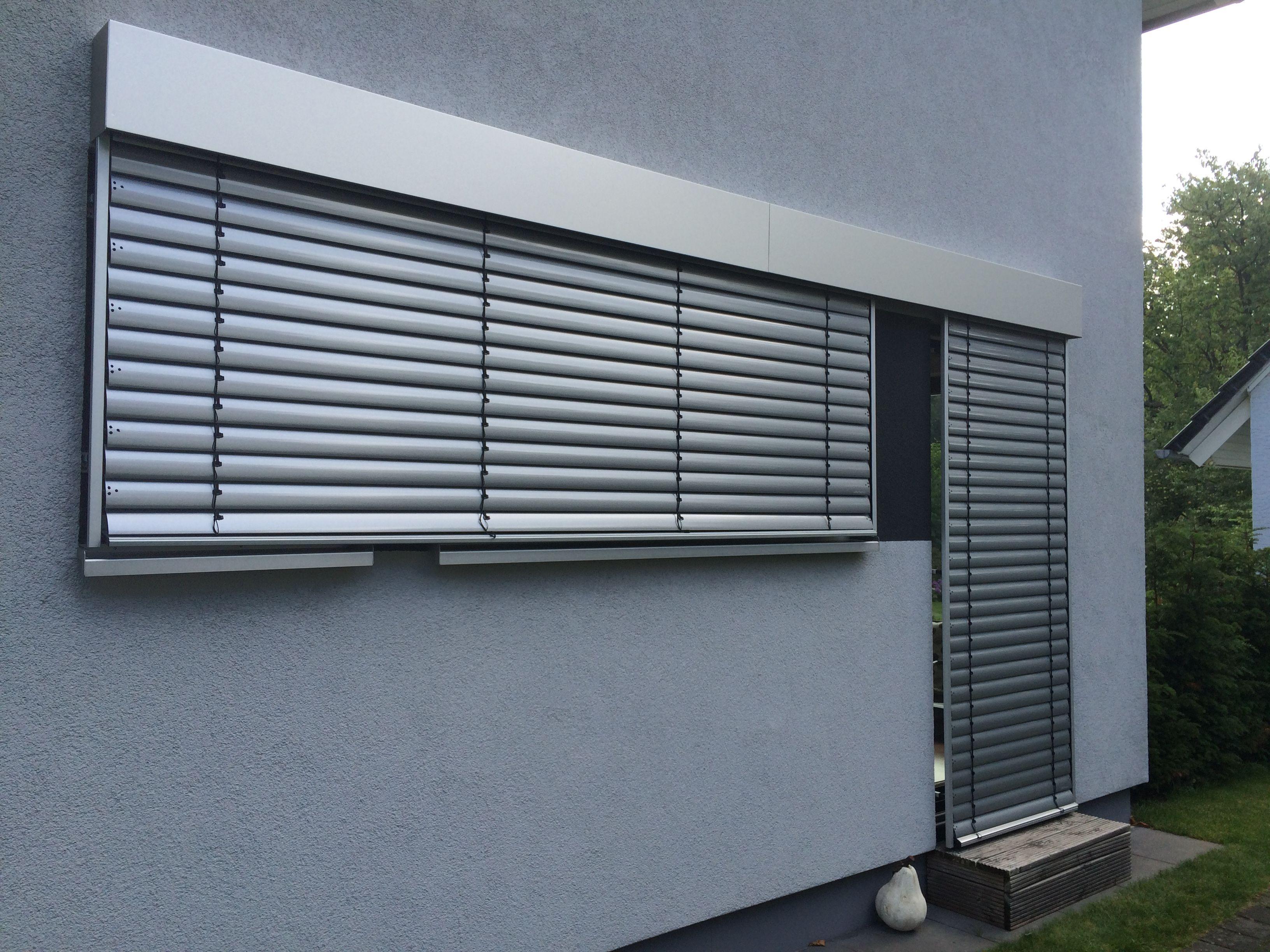 Raffstoreanlagen mit Aluminium-Blende. Vom Sonnenschutz-Fachbetrieb ...