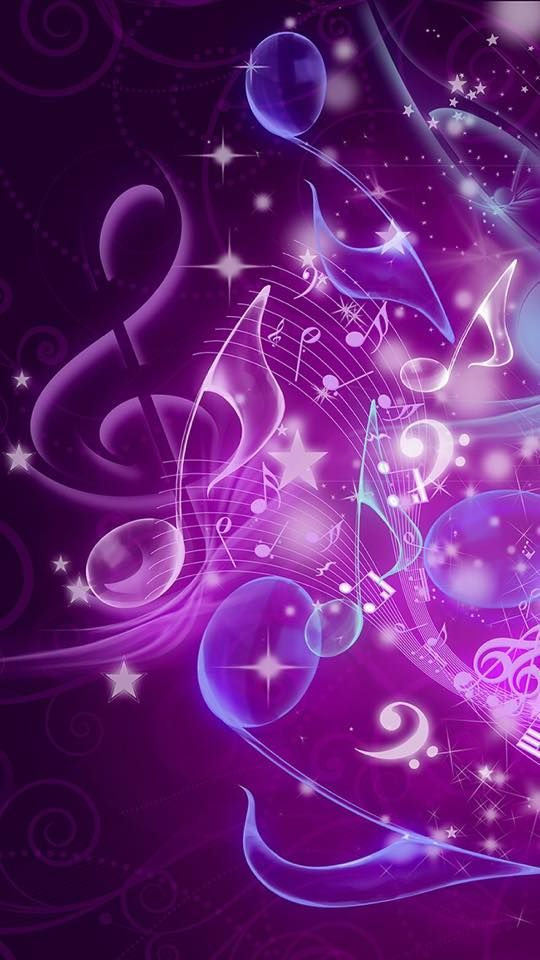 Colorful Musical Notes...🎼 (With images) Music wallpaper