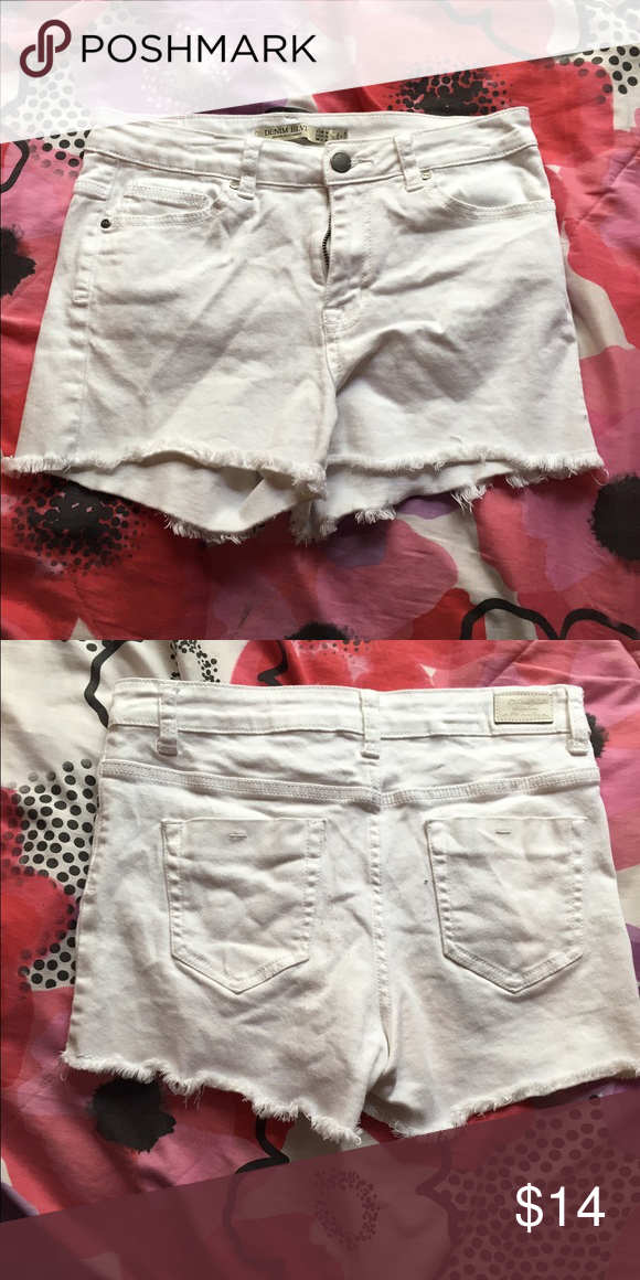 White shorts Good condition worn four times Shorts Skorts