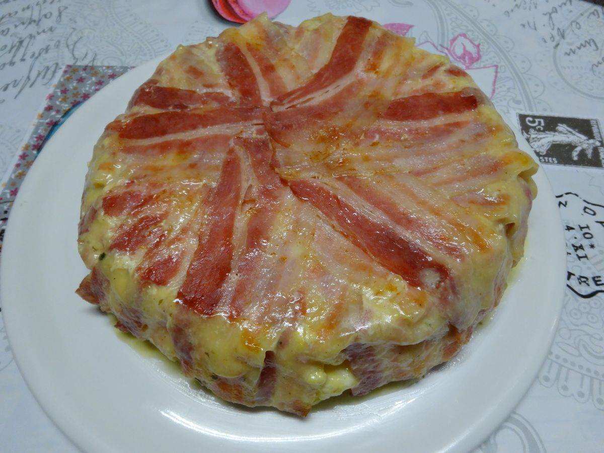 Cake Pomme De Terre Fromage