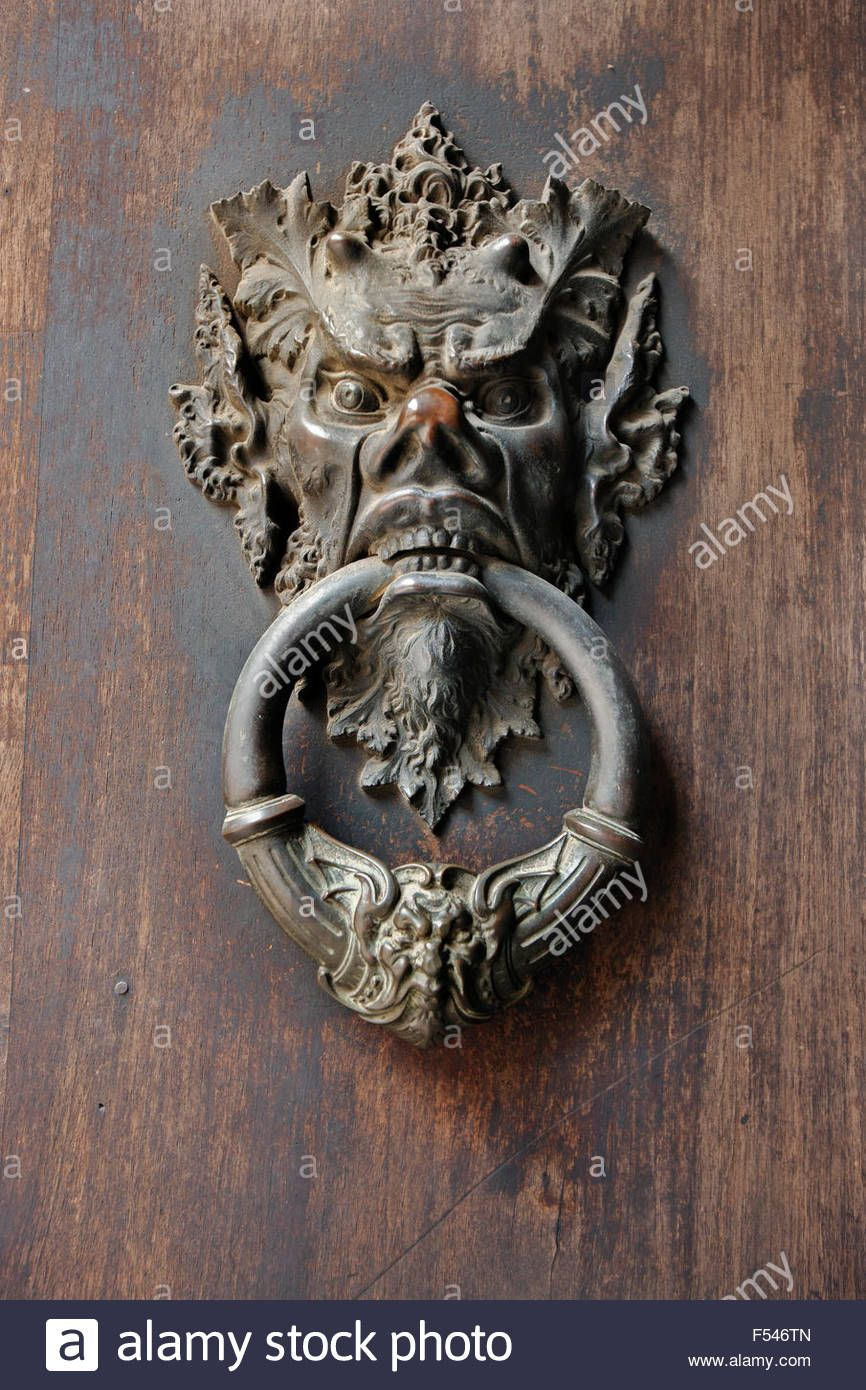Download This Stock Image Medieval Italian Bronze Gargoyle Door Knocker Florence Italy Europe F546tn From Alamy S Library Florence Italy Gargoyles Medieval