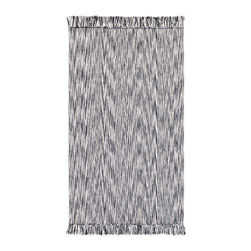 LAPPLJUNG Teppe, flatvevd IKEA Kan vaskes i maskin og er enkel å holde ren.