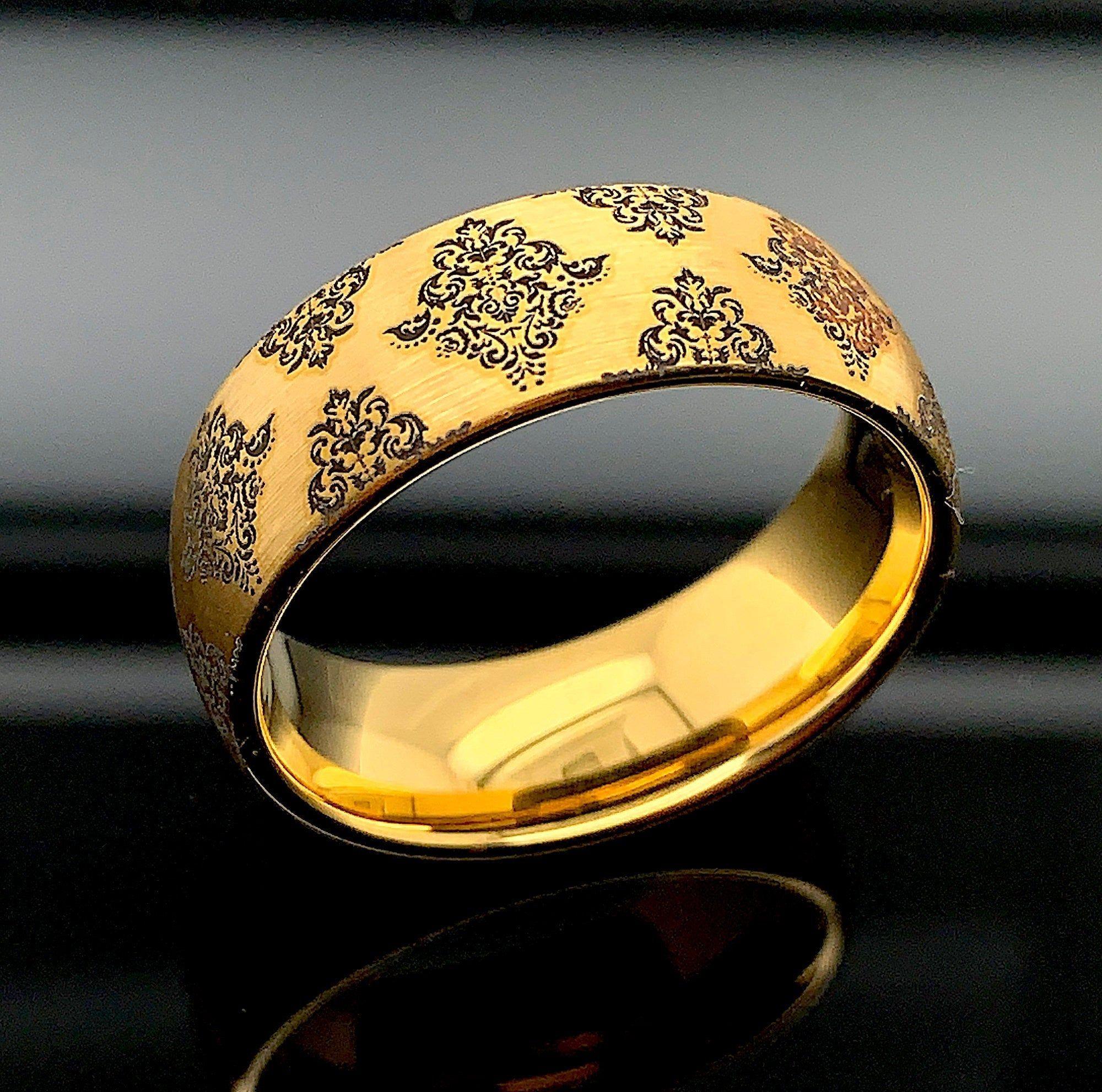 Mens Wedding Ring Mens Wedding Band Tungsten Band Mens