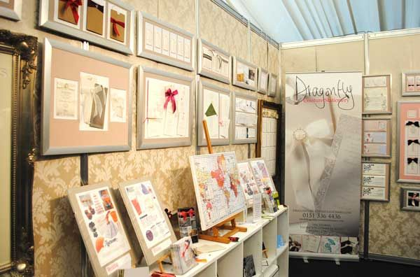 Dragonfly Couture Stationery At The Wedding Show Tatton Park Www Nelliadesigns