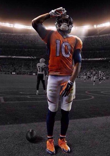 Mile High Salute Sanders version!!! Denver Broncos ...