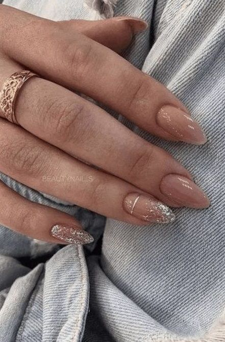 Pin By Courtney Caldwell On Nails In 2020 Almond Acrylic Nails